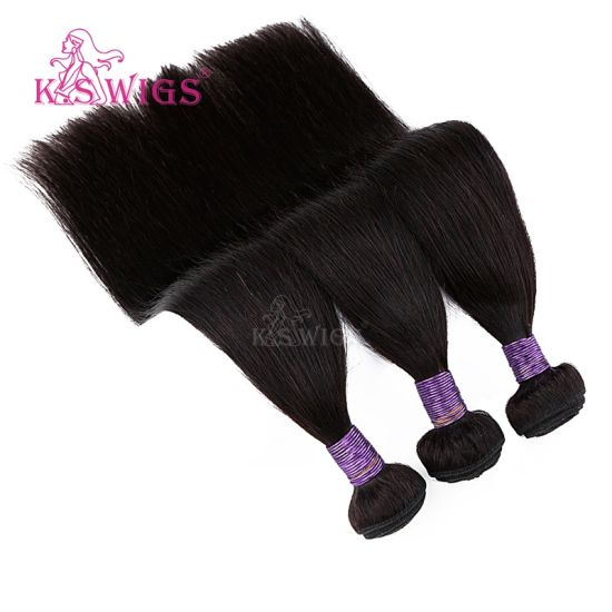 Virgin Human Hair 8A Brazilian Remy Hair Weft pictures & photos