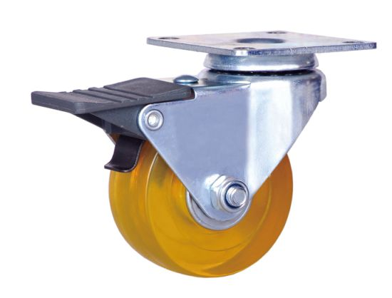 China 2 Inch PVC Wheel Caster Swivel Caster with Brake