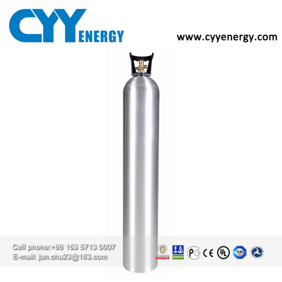 En 1L Aluminum Gas Cylinder for Medical Oxygen Storage