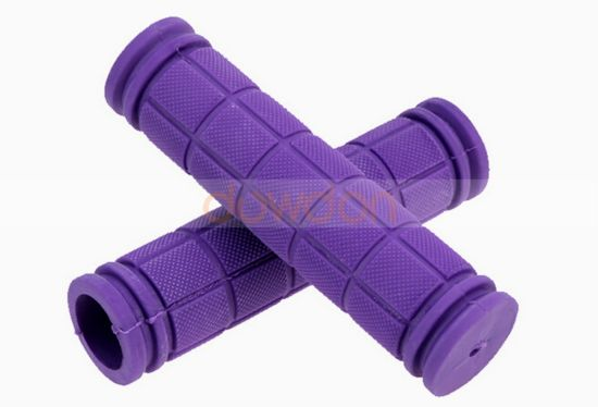 Handlebar End Grips for Road Mountain Bike Bicycle Soft Rubber