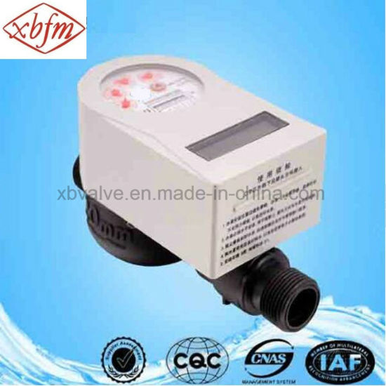 Class B IC Prepaid Water Meter with Plastic Body pictures & photos
