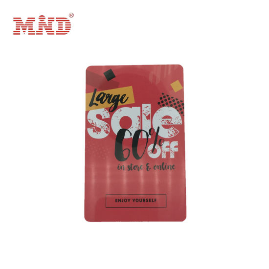 Factory Cheap RFID Plastic PVC Custom 13.56MHz Card Gift Cards pictures & photos
