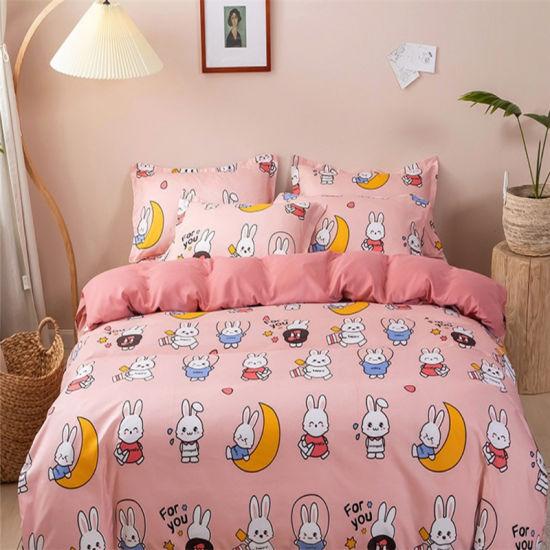 100% Cotton Queen Size Children Bedding Set Kids Bedspreads