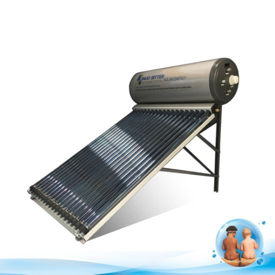 80L, 150L, 200L, 300L Split High Pressure Evacuated Tube Heat Pipe Solar Water Heater with SUS304 Water Tank & Galvanized Sheet 1.5mm Thickness