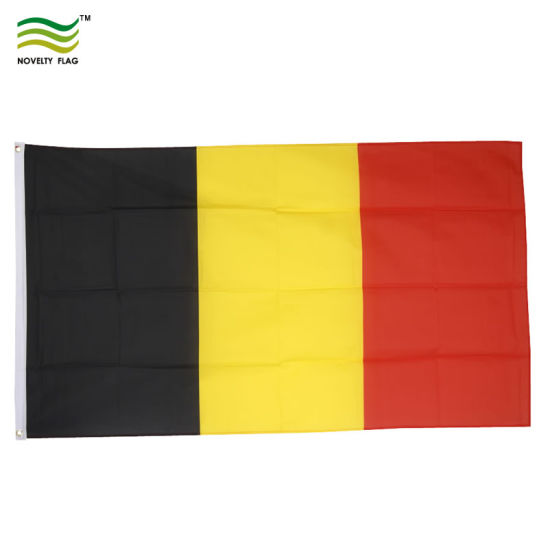 3X5FT Polyester National Belgium Flag pictures & photos