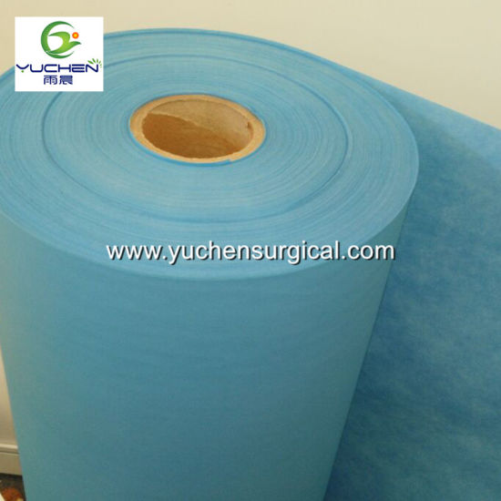 PE Coated Film Lamination PP Spunbond Nonwoven Fabric Rolls pictures & photos