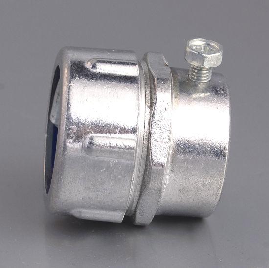 Plum Type Female Flexible Conduit Connector Aluminum