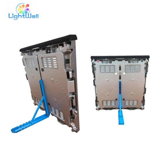 Full Color Outdoor P10 RGB LED Screen Module Case/Cabinet Football Perimeter Large Stadium LED Display Screen pictures & photos