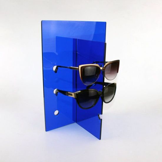 396f6fa20 Blue Color Flat Shipping Sunglass Display Stand pictures & photos