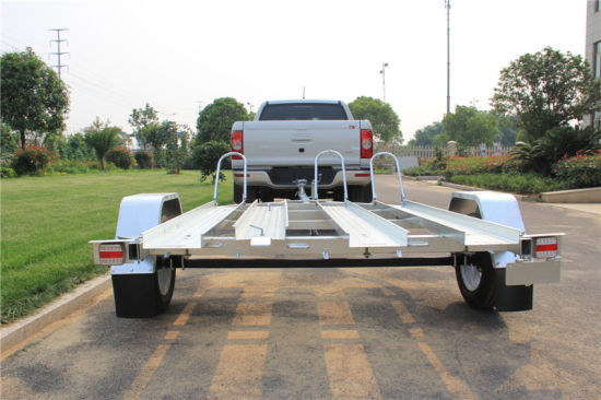 Australia Trailer Hot DIP Galvanized Boat Trailer with Wobble Rollers