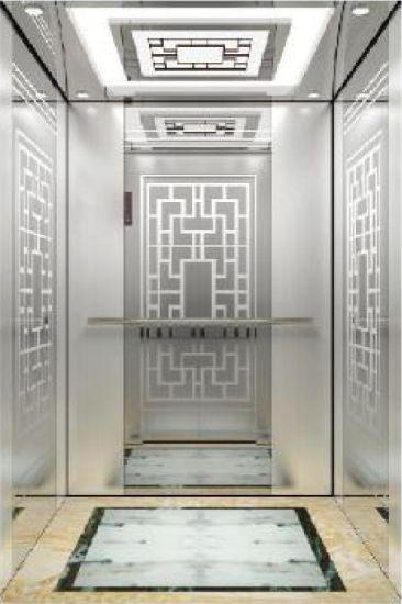 Mitsubishi Copy Mirror Etching Mirro Passenger Elevator with Best Price