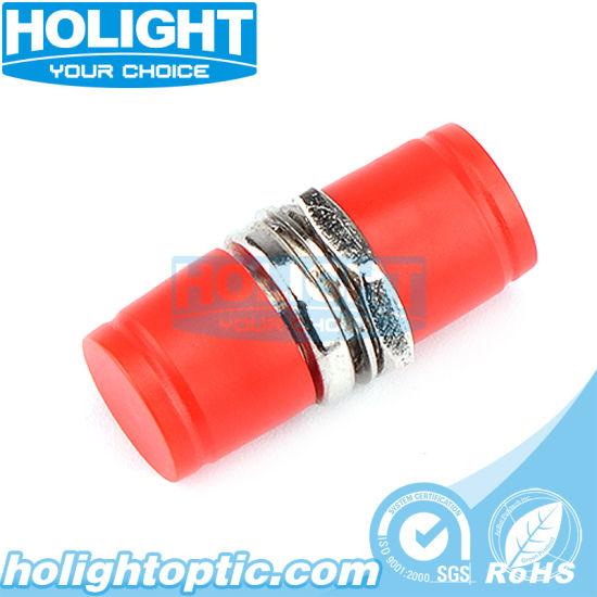 Zirconia Sleeve Double D Sx Sm Fiber Optic FC/FC Adapter