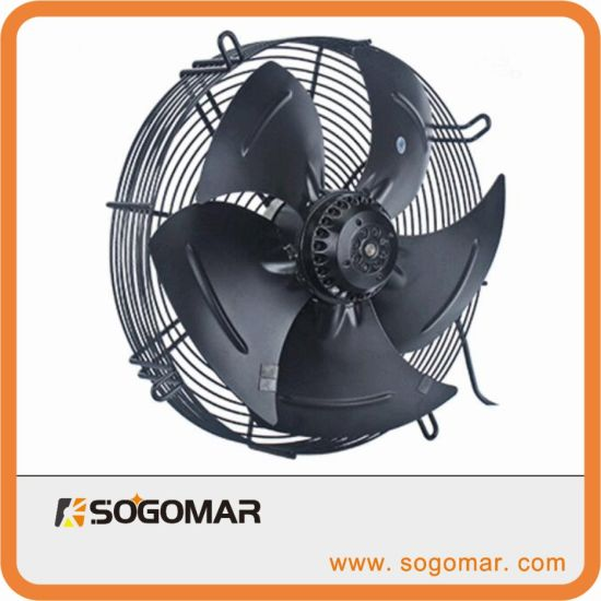 Sfm350 Axial Fan AC with Metal Impellers for Industrial Cooling Exhaust