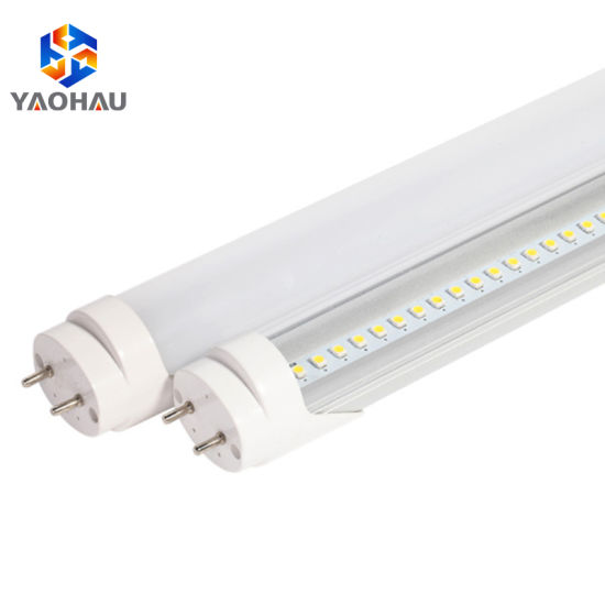 Moderne China 60cm 120cm 2FT 4FT 9W 18W Glass LED Tube T8 6500K LED Tube PK-49