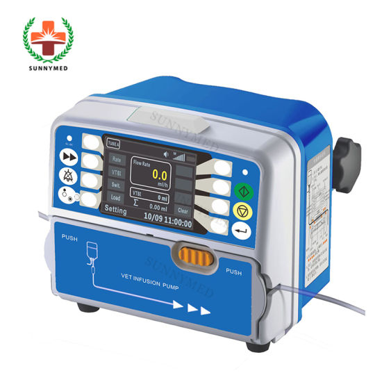 Sy-G089 Medical Devices Portable Vet IV Pumps Vet Infusion Pump