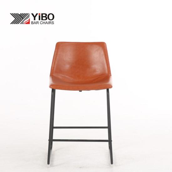 Awe Inspiring China Industrial Kitchen Used Metal High Pu Leather Top Inzonedesignstudio Interior Chair Design Inzonedesignstudiocom