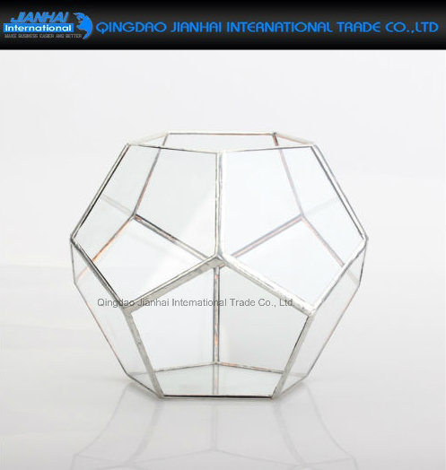 Geometric Pyramid Terrarium Candle Tea Light Holder Plant Vase pictures & photos