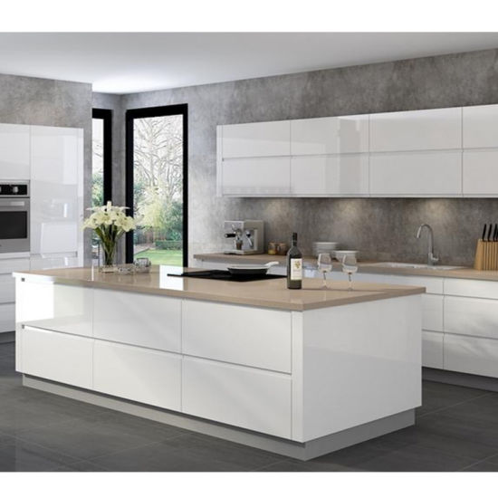 China 2020 Modern Design New Model Shaker Style Free Used Italian Kitchen Cabinet Design Wholesale China Home Cupboard Custom Built Cabinets