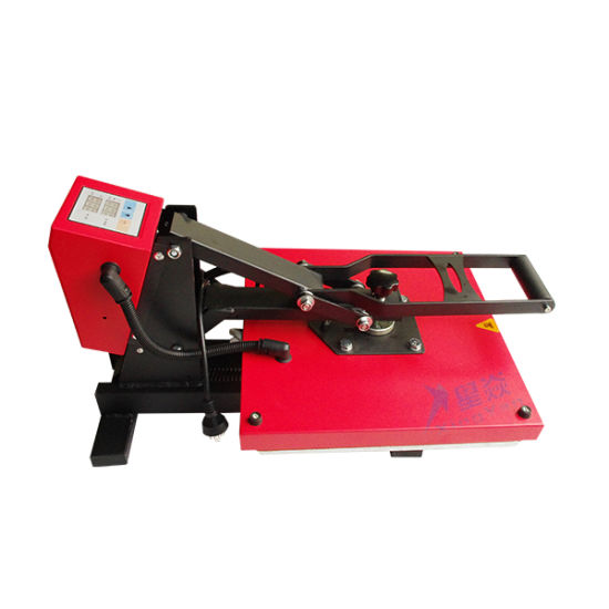 T-Shirt Sublimation Printing Heat Press Machine From Guangzhou Factory pictures & photos