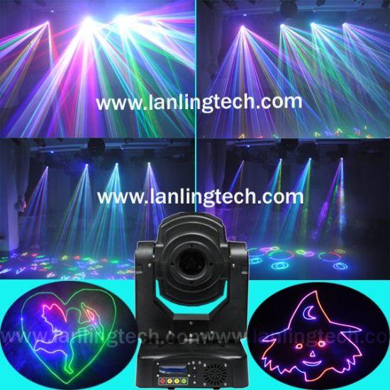2.6 Watt RGB Laser Moving Head Light (LH280RGB)