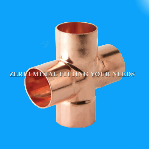 22mm Copper Pipe Cross Fittings for Medcial Gas pictures & photos