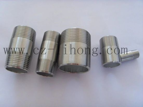 "3/4"" Stainless Steel 316 DIN2999 Close Nipple From Pipe pictures & photos"
