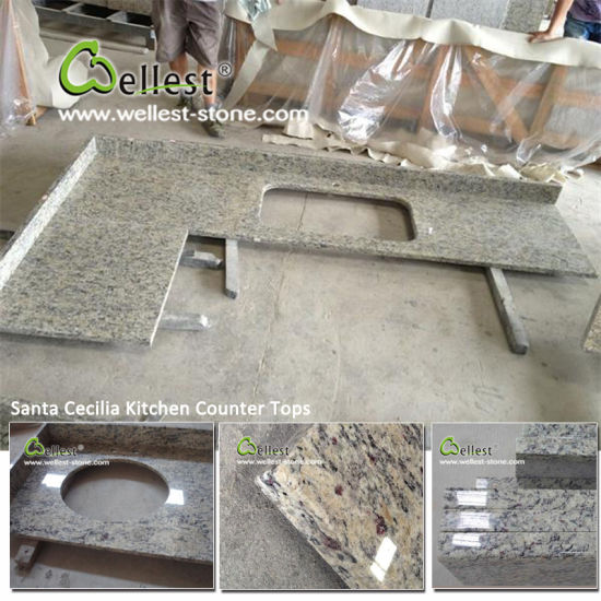 Granite Vanity Kitchen Countertop and Marble Tops with Good Price pictures & photos