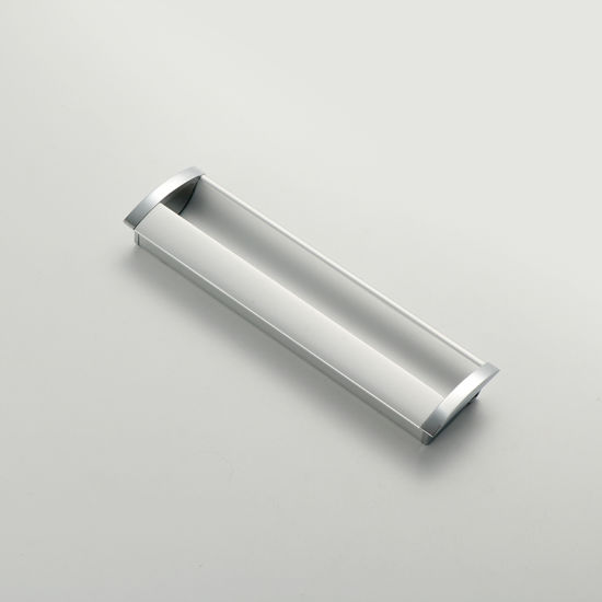 Door Accessories Zinc Aluminium Chrome Cabinet Hardware Drawer Furniture Handle