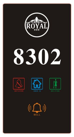 Hotel Touch Room Number Signs (DSV-DP258) pictures & photos