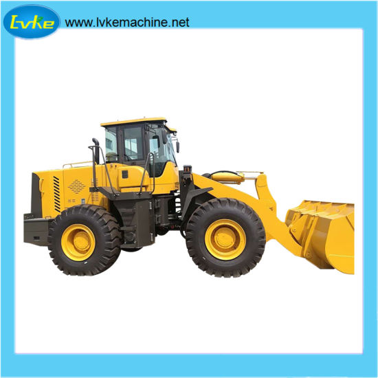China Construction Equipment Small Hydraulic Wheel Loader with Front End Shovel pictures & photos