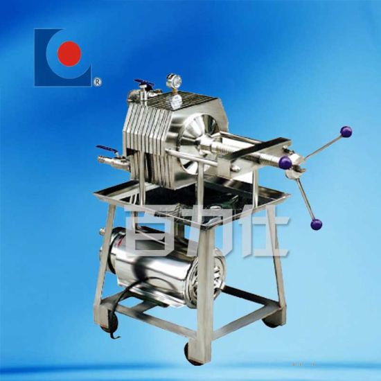 Stainless Steel Plate Press Filter pictures & photos