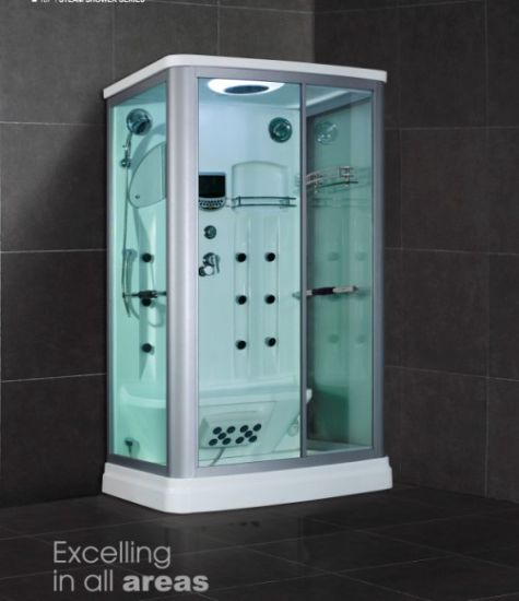 Factory Price Steam Shower Simple Shower Room (SR607)