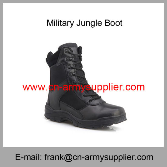 Wholesale Cheap China Military Black Police Army Tactical Jungle Boot