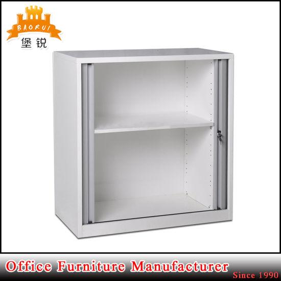 China Mini Half Height Roller Shutter Tambour Door Cabinet For