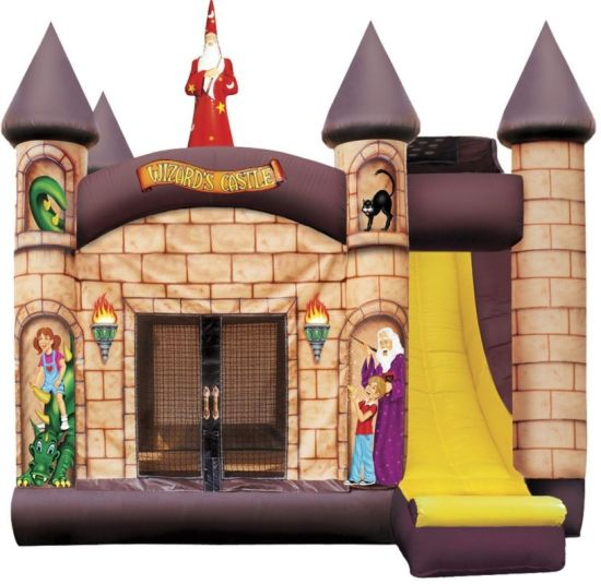 Wizard's Castle Bounce House with Slide 4 in 1
