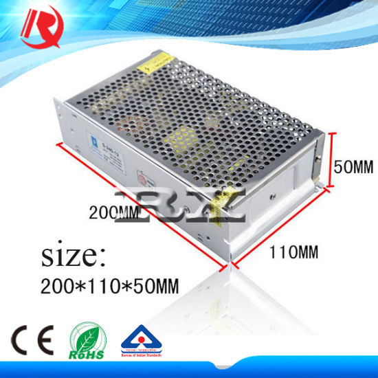 Factory Direct Sales 200W 110V/220V DC Switched Power Supplier 5V 40A LED Power Supply