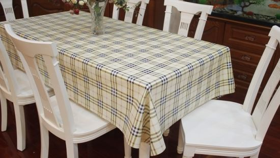 Transparent Fancy Table Cloth