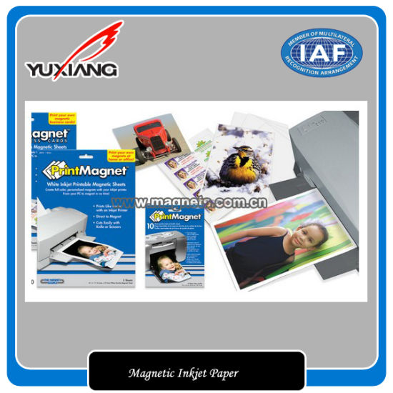 graphic about Printable Magnetic Paper identified as China Printable Magnetic Sheets Magnetic Inkjet Paper