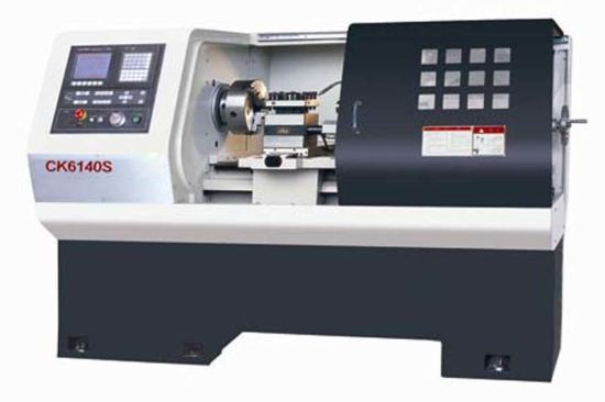 CNC Flat Bed Lathe Machine (CK6130S - CK6140S)