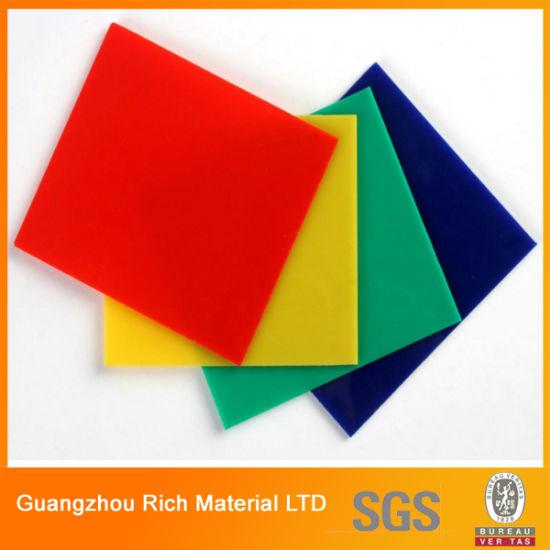 China Transparent Color Acrylic Sheet Plastic PMMA Sheet - China ...