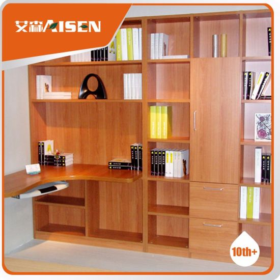 Home Furniture Popular Wooden Bookshelf From China pictures & photos