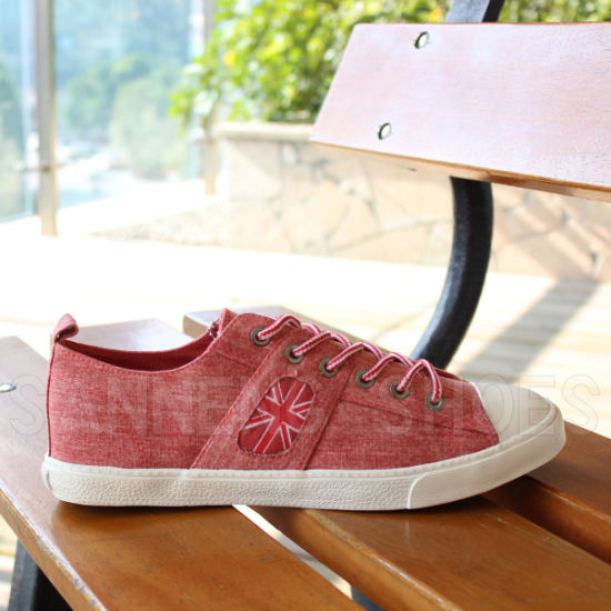 Classic Men's Rubber Outsole Canvas Shoes Snc-02186