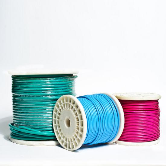 China 450/750V 4mm2 PVC Insulated Copper Wire, Copper Building Wire ...