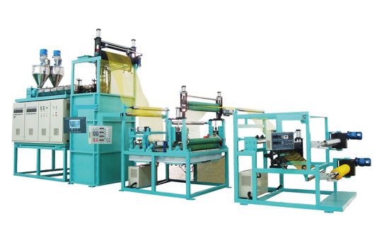 Double-Direction Stretching Mesh Extrusion Machine pictures & photos