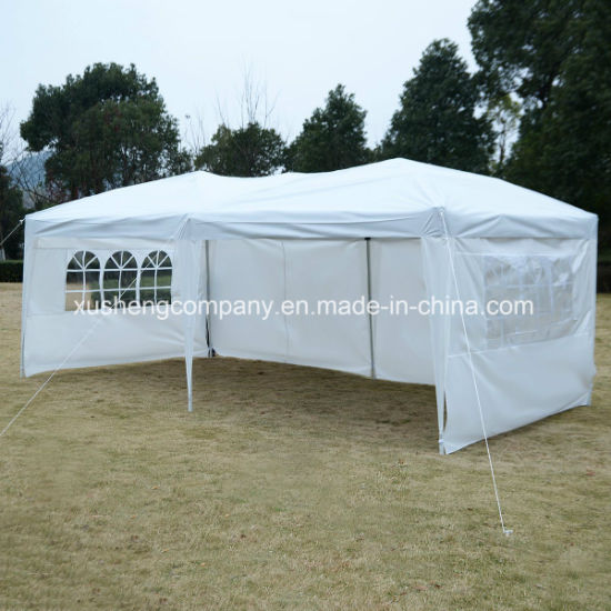 Waterproof Outdoor Folding Easy Pop Canopy Tent with 4 PCS Side Walls pictures & photos