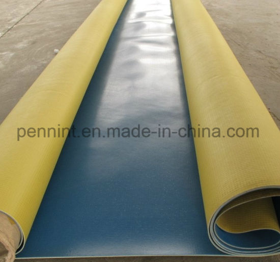 Colorful Green PVC Underground/Roof Sheet Waterproofing Membrane for Asia/Europe pictures & photos