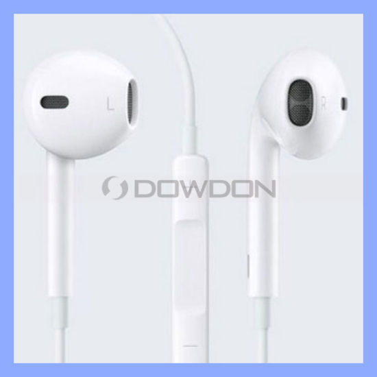 Earphone for iPhone 6 5 5s Headphones Earpods with Volume Control and Mic (EAR-06)