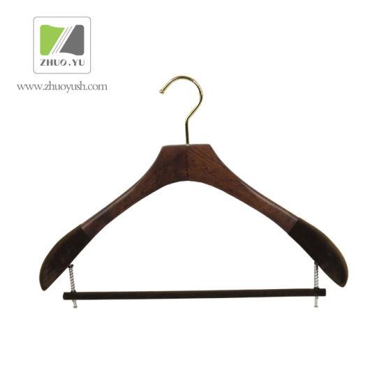 Wooden Bottom / Coat Hanger with Bar