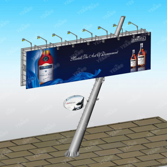 Outdoor Steel Frame Advertising Galvanized Billboard pictures & photos