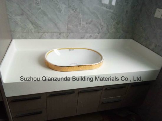 Solid Surface Wash Sinks Artificial Stone Basin Customized